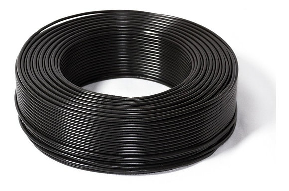 Cable Unipolar 4mm X 10 Mts Negro