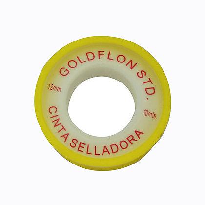 Cinta Teflon Goldflon 19mmx20mx0.05mm