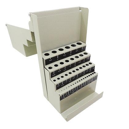 Caja Porta Mechas Metalica Papagno