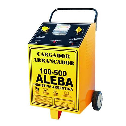 Cargador Arrancador 100-500 6/12 Aleba Volts Car026