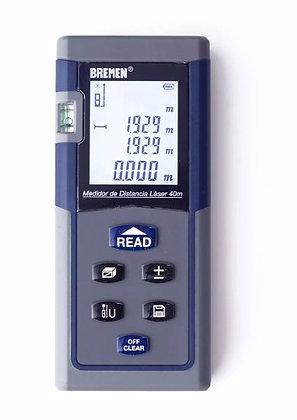 Medidor De Distancias Laser 7028 Bremen 40mts