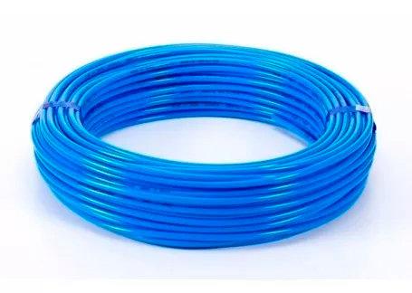 Manguera Poliuretano Azul 6 Mm
