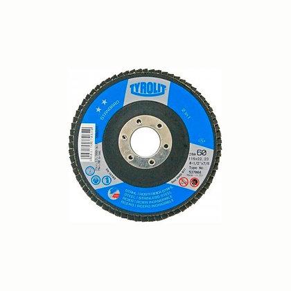 Disco Lija Flap 115x22 G60 Tyrolit
