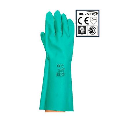 Guante Acronitrilo Verde Bil-vex Talle 9