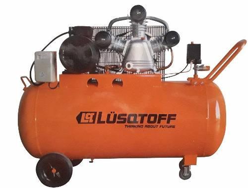 Compresor De Aire 4hp 200lts Lusqtoff  Lc-40200