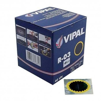 Parche Vipal R-03 (40 Unid.)