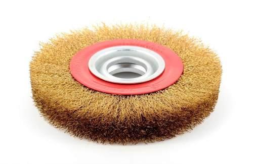 Cepillo Circular Para Amoladora De Banco 7 Pulgadas 3252