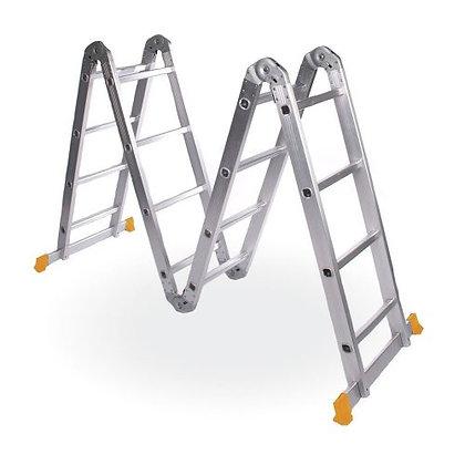 Escalera De Aluminio Le400 Lusqtoff