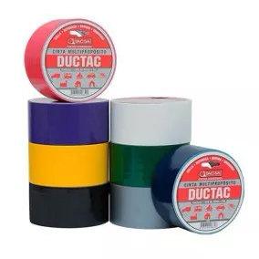 Cinta Duct Tape Gris Tacsa 10 Yds