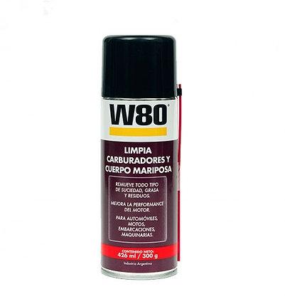 W80 Limpia Carburadores Y Cuerpo Mariposa