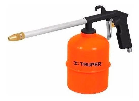 Pistola Para Sopletear Con Recipiente Truper 19236