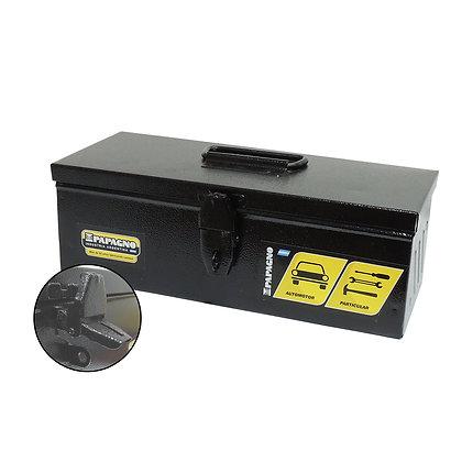 Caja De Herramientas Metalica Papagno N3 (350x120x140) Negra