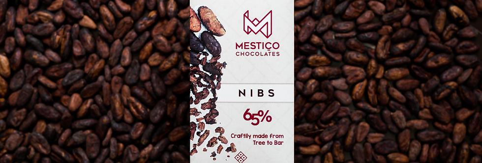 65% - Nibs