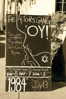 Oy! by Hélène Cixous, The Actor's Gang, Los Angeles