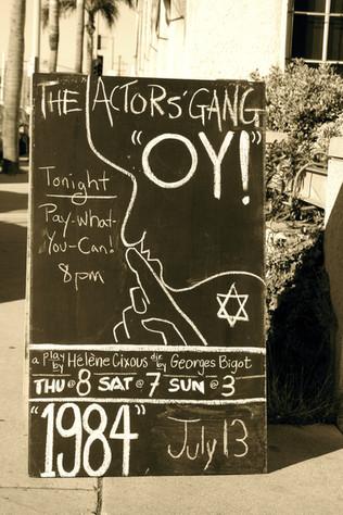 Oy! by Hélène Cixous, The Actor's Gang, Los Angeles