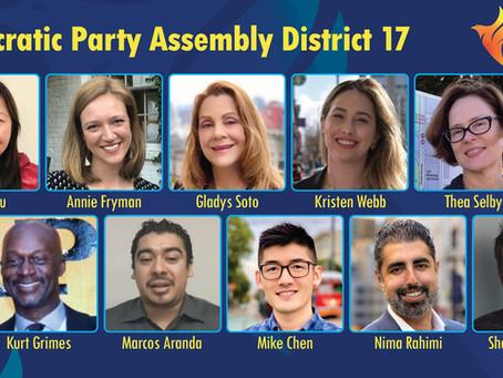 SF ENDC Endorsements for ADEMs 2021 Election
