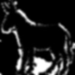 donkey-silhouette-drawing-clip-art-donke