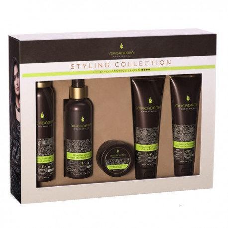 Macadamia Professional styling kit 5 prodotti