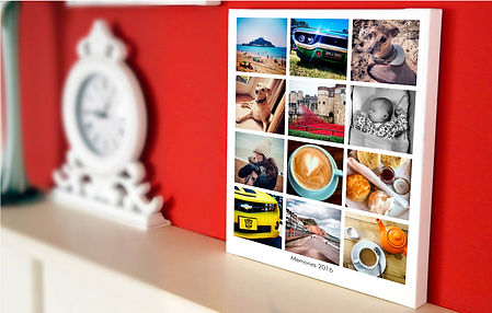collection of photos phone tablet usb stick canvas print standard print any size up to A1