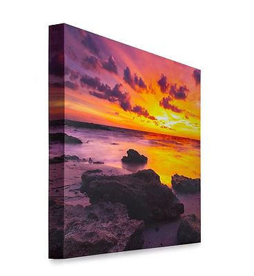 canvas print hand made frame any size including square from your phone tablet usb memory card