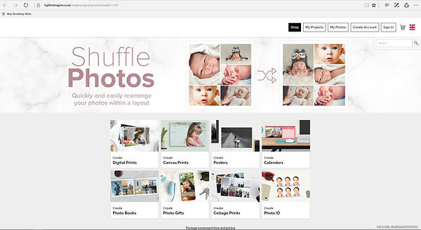 fujifilm hompage order photos from your laptop computer
