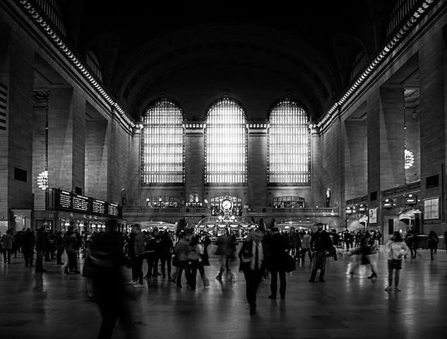 Cliche picture of grand central station?