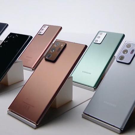 旗艦系列Galaxy Note 20 正式公佈定價 早鳥優惠有驚喜!?