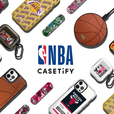 【NBA X CASETiFY系列次回登場】 30支球隊進場