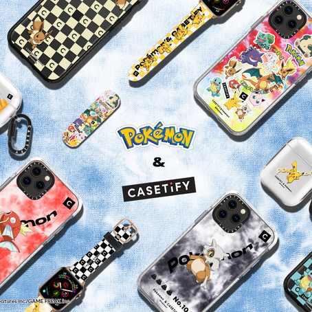 【CASETiFY X Pokémon 別注系列】繼續十萬伏特電能效應