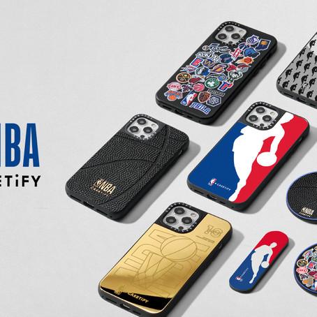 【CASETiFY正式與NBA展開合作】電子配件與籃球結合的個人化產品