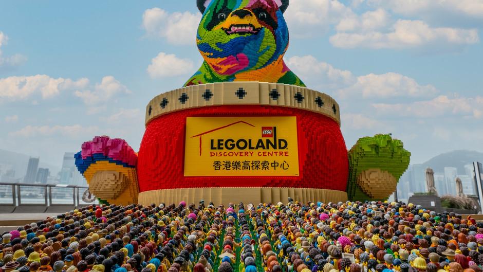 【巨型LEGO®熊貓越洋訪港】14天的「自我隔離」走唔甩