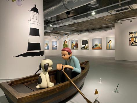 【花井祐介歷年最大型海外個人展覽《FACING THE CURRENT》】勉勵香港朋友乘風破浪面對殘酷現實