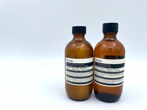 【Aesop輕柔潔面乳/B綠茶平衡調理液】男士冬季護膚提案
