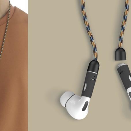 【M.Craftsman 「PODCHAIN」】頸飾結合Airpods 的補完計劃