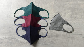 【MEDEIS™全新色系3D口罩】歐洲時裝設計師過百款抗疫潮物