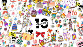 【CASETiFY聯乘全球十位藝術家打造十週年特別紀念系列】體現積蓄下的創意和個性