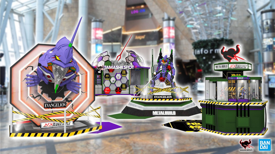 【TAMASHII NATIONS x 朗豪坊】     「TAMASHII FIGURE FES 2020」 大型《新世紀福音戰士》展覽!《鬼滅之刃》與《One Piece》亂入?