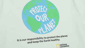 【National Geographic Green Tee】環保物料製造 保護地球由衫開始