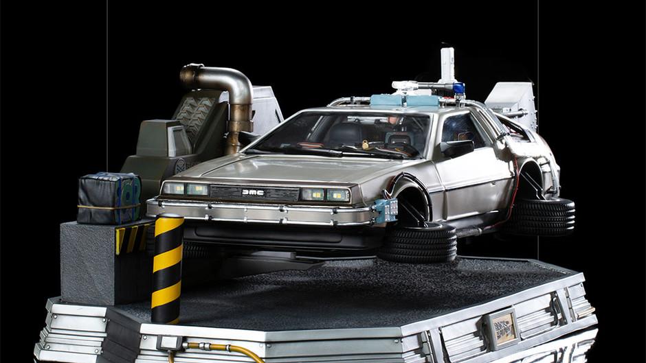 【Iron Studios 1/10 Art Scale《Back to the Future Part II》DeLorean】男人最想擁有的座駕