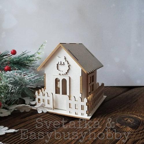 Пряничный домик (4,5 см)