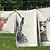 Thumbnail: Natural Stag Tea Towel