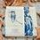 Thumbnail: Natural Tea Towel with closeup of Kingfisher