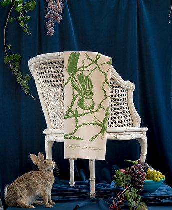 Natural Fantail Tea Towel (Organic)