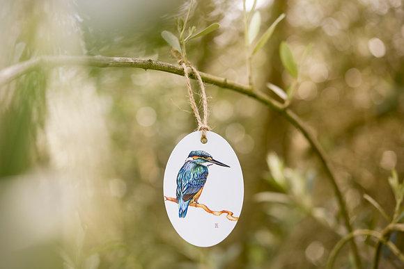 Kingfisher Gift Tag