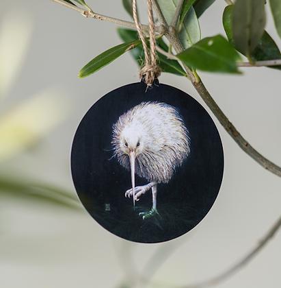 White Kiwi Gift Tag