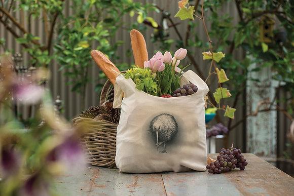 Kiwi Organic Cotton Grocery Bag