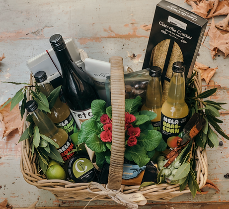 Custom Food Gift Basket
