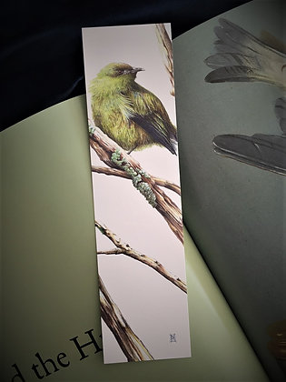 Bellbird (Korimako) bookmark