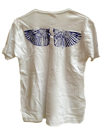 Women's T Shirt Wings Print