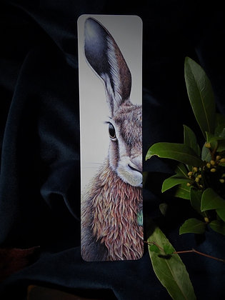 Forest Hare bookmark
